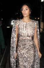 NICOLE SCHERZINGER Arrives at Bafta Vogue x Tiffany Fashion and Film After-party in London 02/02/2020