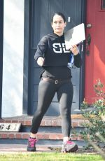 NIKKI BELLA Out Shopping in Studio City 02/19/2020