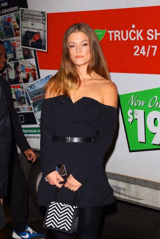 NINA AGDAL Arrives at L'Avenue in New York 02/04/2020