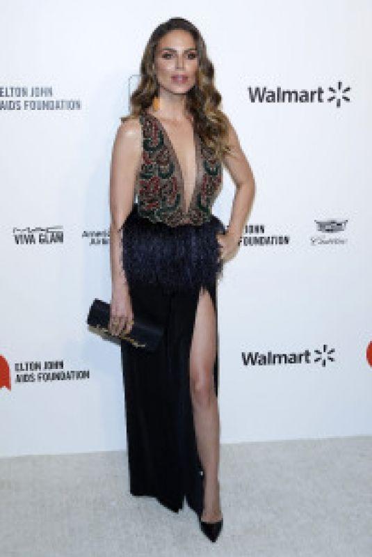 NINA SENICAR at Elton John Aids Foundation Oscar Viewing Party in West Hollywood 02/09/2020