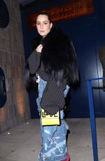 NOOMI RAPACE Arrives at Love Magazine Party in London 02/17/2020