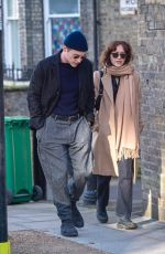 OLIVIA COOKE and Ben Hardy Out in London 02/09/2020