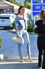OLIVIA CULPO in Double Denim Out in Los Angeles 02/12/2020