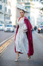 OLIVIA CULPO Out at Milan Fashion Week 02/22/202.