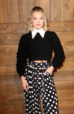 OLIVIA HOLT at Michael Kors Show at New York Fashion Week 02/12/2020