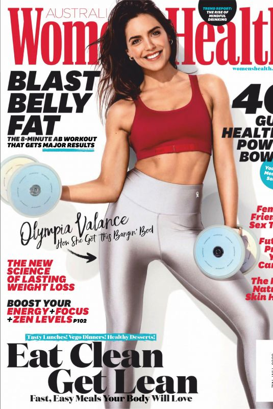 OLYMPIA VALANCE in Women's Health Magazine, Australia March 2020