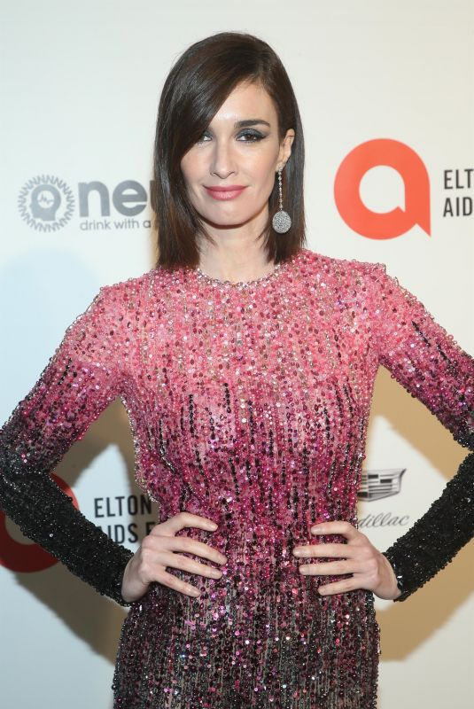 PAZ VEGA at Elton John Aids Foundation Oscar Viewing Party in West Hollywood 02/09/2020