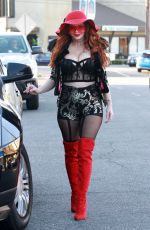 PHOEBE PRICE Out in Los Angeles 02/06/2020