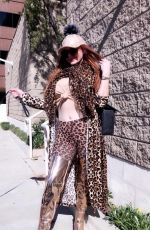 PHOEBE PRICE Out in West Hollywood 02/04/2020