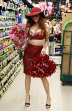 PHOEBE PRICE Out Shopping at Ralph