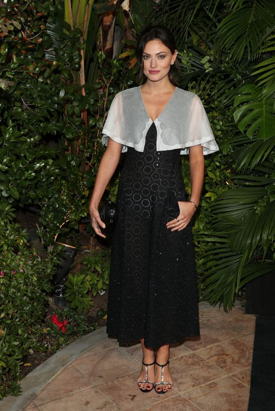 PHOEBE TONKIN at Charles Finch and Chanel Pre-oscar Awards in Los Angeles 02/08/2020