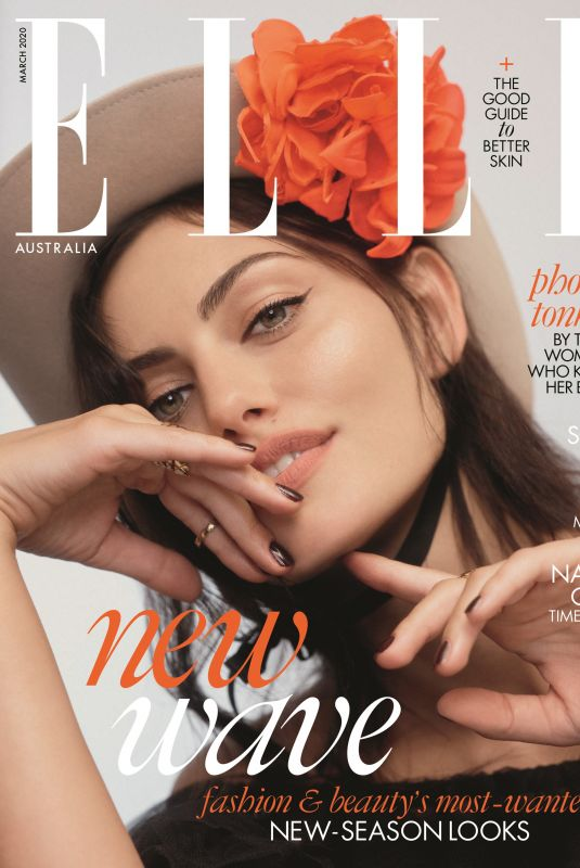 PHOEBE TONKIN in Elle Magazine, Australia March 2020