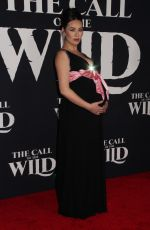 Pregnant CARA GEE at The Call of the Wild Premiere in Los Angeles 02/13/2020