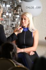 Pregnant CHLOE GOODMAN at Makeup Masterclass in Liverpool 02/07/2020