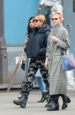 Pregnant CHLOE SEVIGNY Out in New York 02/04/2020