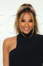 Pregnant CIARA at Tom Ford Fashion Show in Los Angeles 02/07/2020