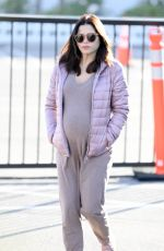 Pregnant JENNA DEWAN Out in Los Angeles 02/04/2020