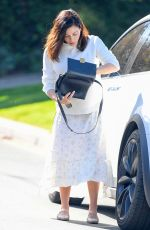 Pregnant JENNA DEWAN Out in Los Angeles 02/12/2020