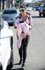 Pregnant JENNA DEWAN Out in Studio City 02/03/2020