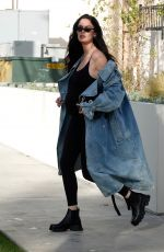 Pregnant NICOLE TRUNFIO Leaves Obstetricians Office in Beverly Hills 02/25/2020