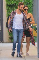 Pregnant NIKKI BELLA and Artem Chigvintsev Out in Los Angeles 01/31/2020