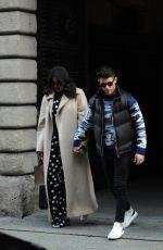 PRIYANKA CHOPRA and Nick Jonas Out for Lunch in Milan 02/14/2020