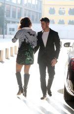 PRIYANKA CHOPRA and Nick Jonas Out in Milan 02/15/2020