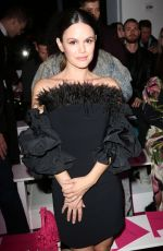 RACHEL BILSON at Christian Siriano Show at New York Fashion Week 02/06/2020