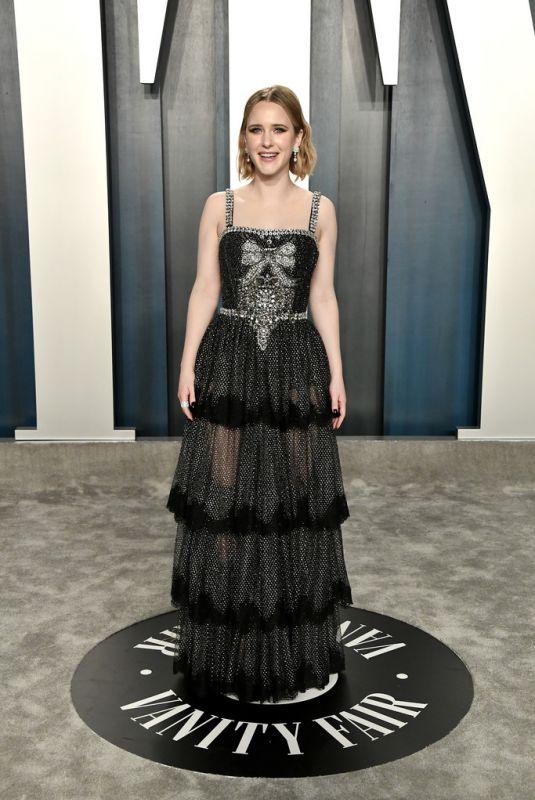 RACHEL BROSNAHAN at 2020 Vanity Fair Oscar Party in Beverly Hills 02/09/2020