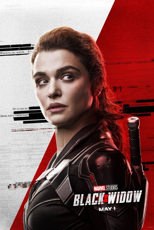 RACHEL WEISZ - Black Widow Poster and Trailer, 2020