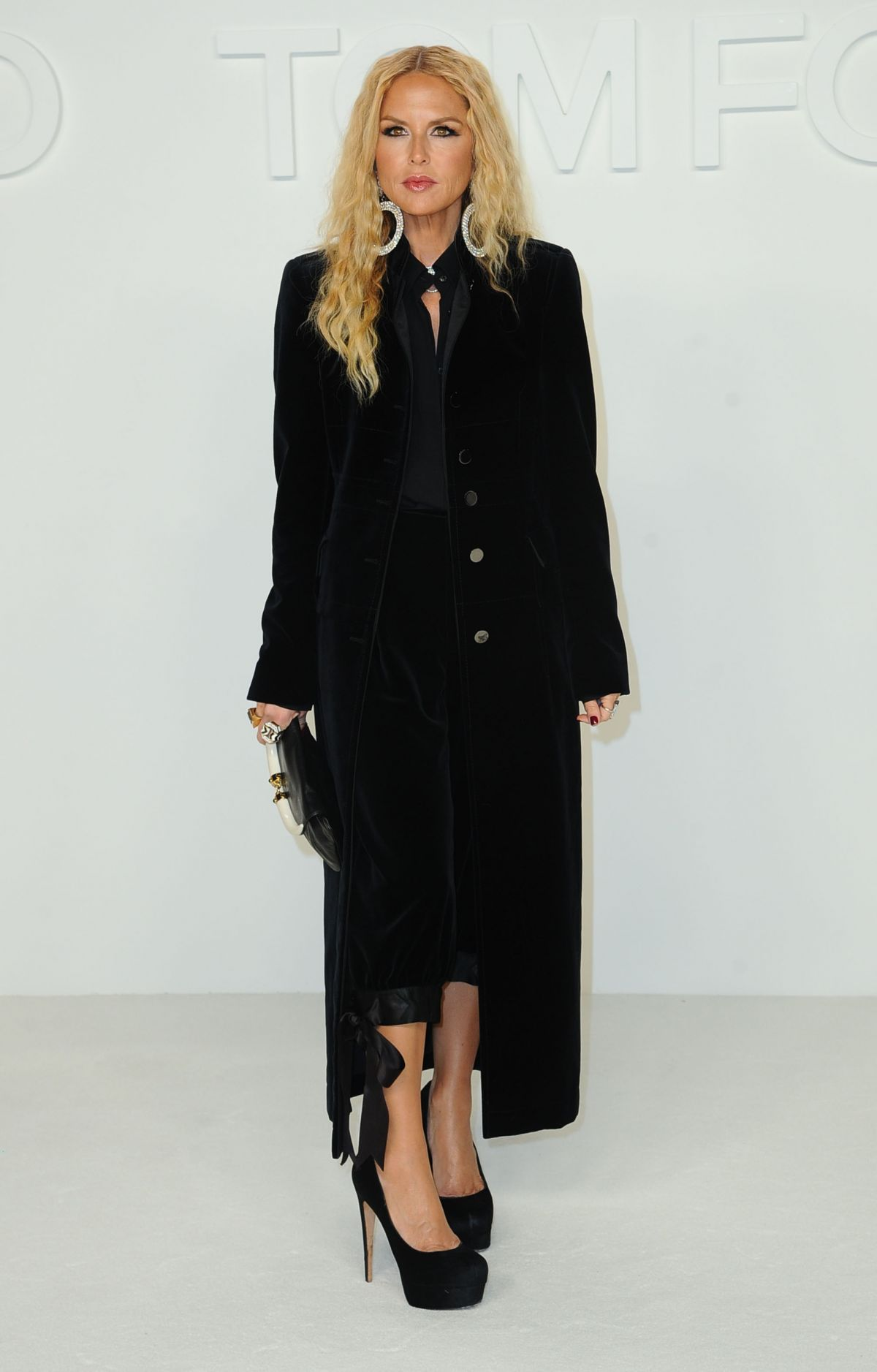 RACHEL ZOE at Tom Ford Fashion Show in Los Angeles 02/07 ...