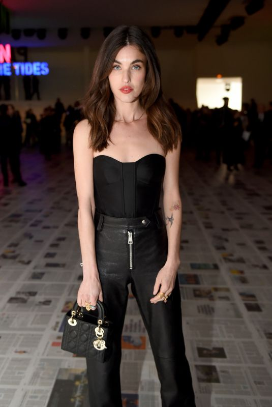 RAINEY QUALLEY at Dior Show at Paris Fashion Week 02/25/2020