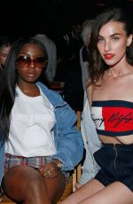 RAINEY QUALLEY at Tommy Hilfiger Fashion Show in London 02/16/2020