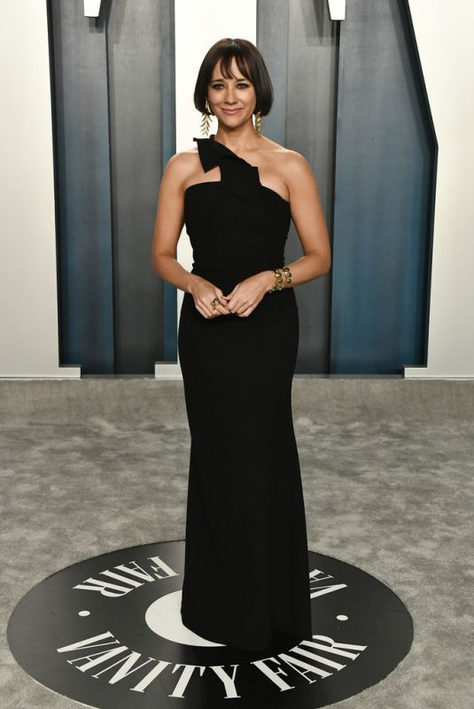 RASHIDA JONES at 2020 Vanity Fair Oscar Party in Beverly Hills 02/09/2020