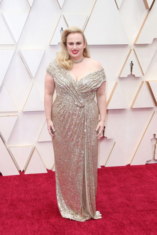 REBEL WILSON at 92nd Annual Academy Awards in Los Angeles 02/09/2020