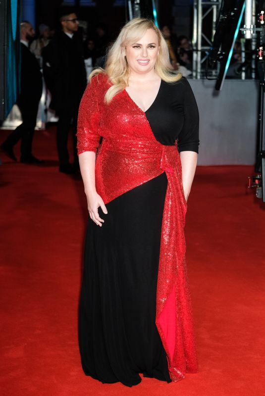 REBEL WILSON at EE British Academy Film Awards 2020 in London 02/01/2020