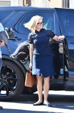 REESE WITHERSPOON Out and About in Brentwood 02/11/2020