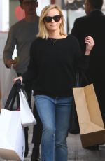 REESE WITHERSPOON Out Shopping in Brentwood 02/13/2020