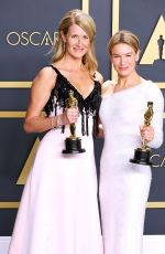 RENEE ZELLWEGER and LAURA DERN at 92nd Academy Awards Nominees Luncheon in Hollywood 01/27/2020