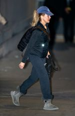 RENEE ZELLWEGER Arrives at Jimmy Kimmel Live in Los Angeles 01/30/2020