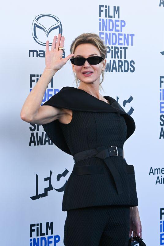 RENEE ZELLWEGER at 2020 Film Independent Spirit Awards in Santa Monica 02/08/2020