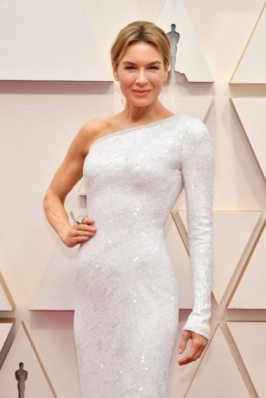 RENEE ZELLWEGER at 92nd Annual Academy Awards in Los Angeles 02/09/2020
