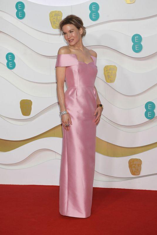 RENEE ZELLWEGER at EE British Academy Film Awards 2020 in London 02/01/2020