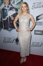RHEA SEEHORN at Better Call Saul, Season 5 Premiere in Hollywood 02/05/2020