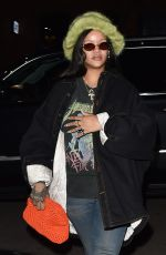 RIHANNA Night Out in New York 02/08/2020