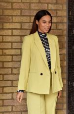ROCHELLE HUMES and ALISON HAMMOND at ITV Studios in London 02/25/2020