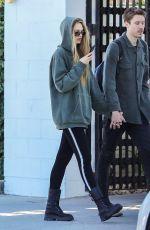 ROMEE STRIJD and Laurens Van Leeuwen Out in Beverly Hills 02/04/2020