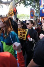 ROONEY and KATE MARA Joins Greenpeace at Fire Drill Fridays in Los Angeles 02/07/2020