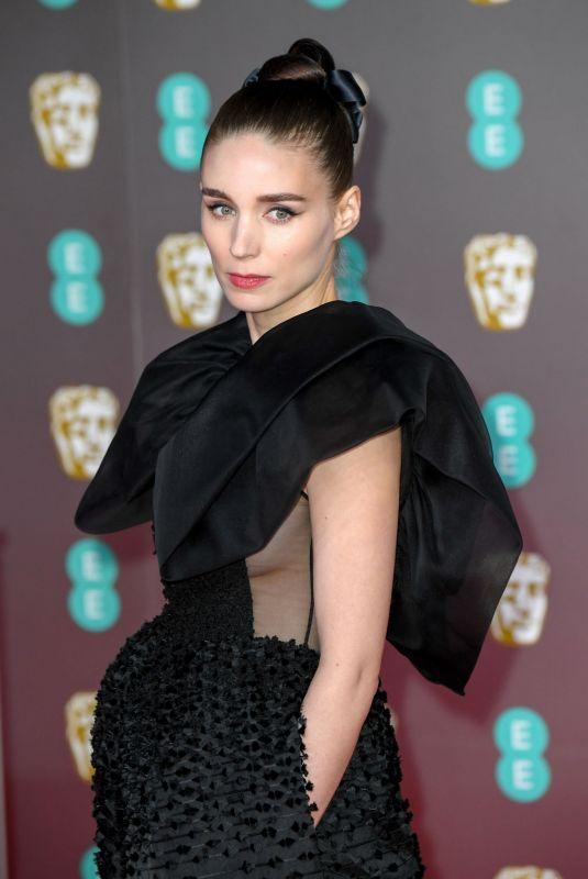 ROONEY MARA at EE British Academy Film Awards 2020 in London 02/01/2020