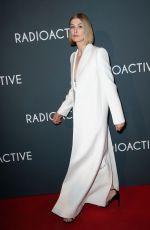 ROSAMUND PIKE at Radioactive Premiere in Paris 02/24/2020